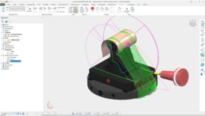 A common problem with Projection toolpaths is over-machining parts